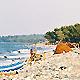 Sur la plage... (Ph. Dam)