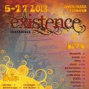EXISTENCE Festival 2013 Presale Ticket