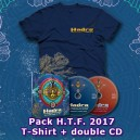 PACK Hadra Trance Festival 2017 (Tshirt + Double CD)